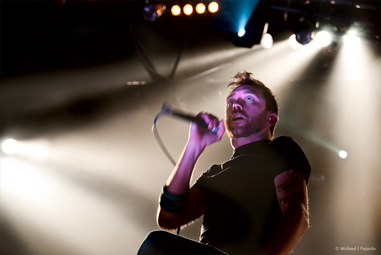 Tim McIlrath Rise Against Fillmore Auditorium, Denver, CO  April 16, 2011