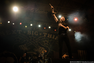 Tim McIlrath of Rise Against performs on December 1, 2012 during 97X Next Big Thing at Vinoy Park in St. Petersburg, Florida