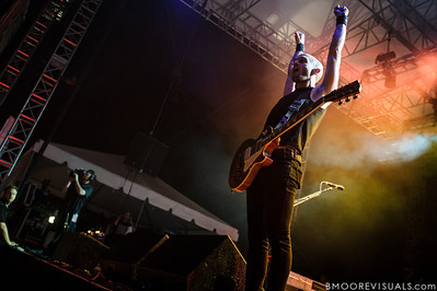 Zach Blair of Rise Against performs on December 1, 2012 during 97X Next Big Thing at Vinoy Park in St. Petersburg, Florida
