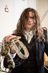"LOS ANGELES, CA - JULY 30:  ((EXCLUSIVE COVERAGE)) Vocalist Jay Buchanan of Rival Sons poses at the ""Keep On Swinging"" music video shoot on July 30, 2012 in Los Angeles, California.  (Photo by Chelsea Lauren/WireImage)"