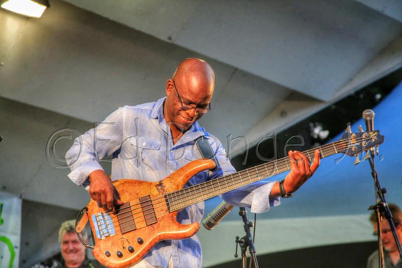 Scott Ambush, bass player for Spyro Gyra.