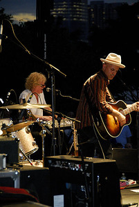 Ian Hunter and the Rant Band - River to River Festival, Rockefeller Park, Battery Park City, NYC 2009