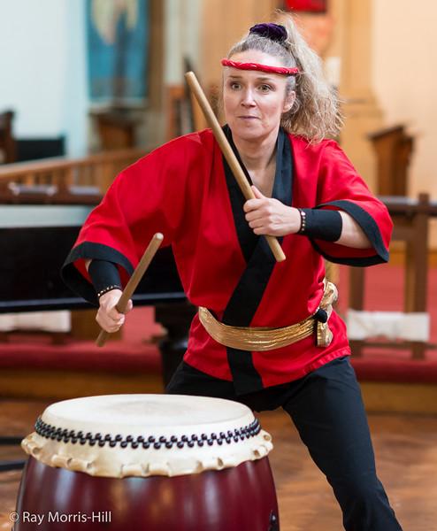 Liz Walters – Tamashii Taiko Drummers & School of Taikodo