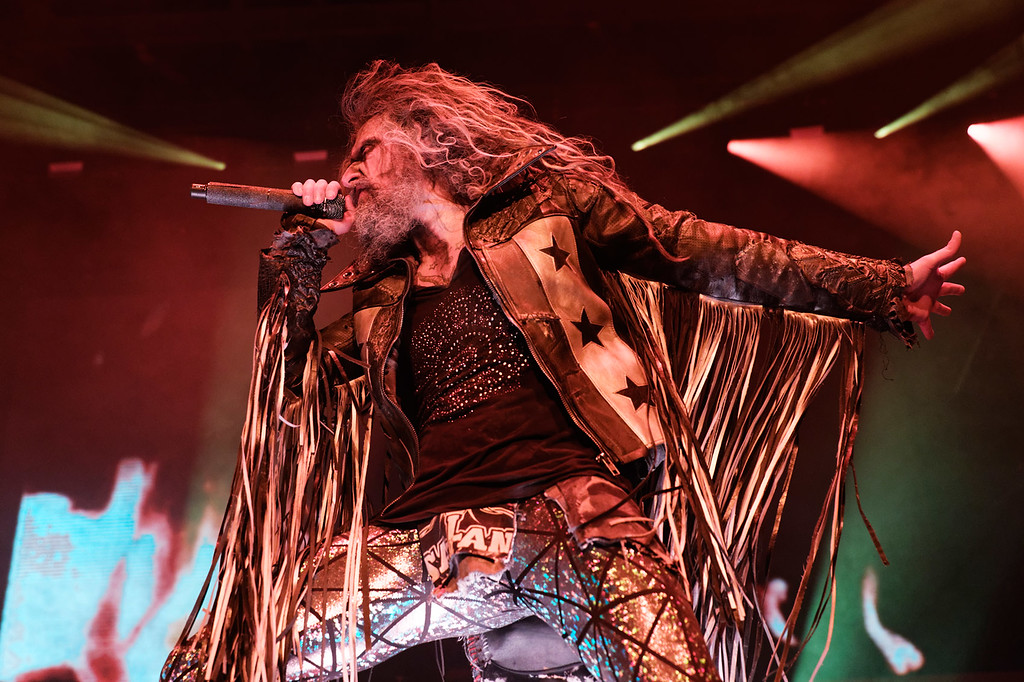 . Rob Zombie live at DTE on 7-11-2018. Photo credit: Ken Settle