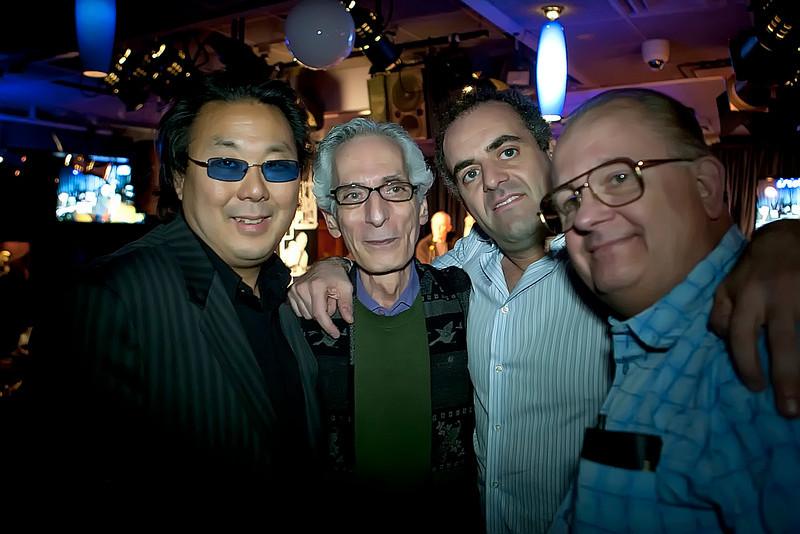 Kirk Yano Pat Matrino Ron Sturm and Rusty Paul
