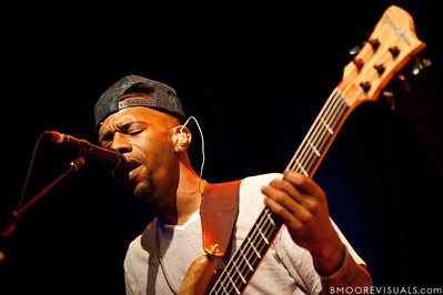 """Danyel Morgan of Robert Randolph & The Family Band performs on February 10, 2011 in support of """"We Walk This Road"""" at State Theatre in St. Petersburg, Florida"""