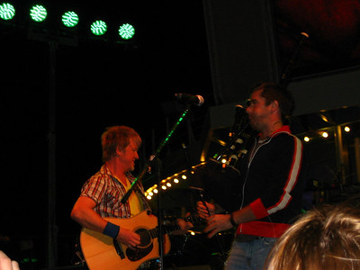Twigger and Pete from Gaelic Storm