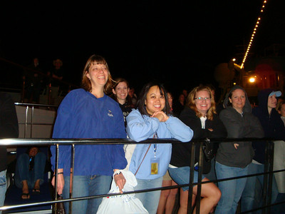Nighttime concert on the Lido Deck.