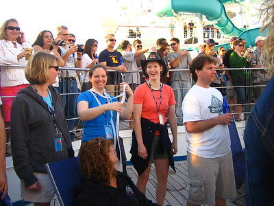 The Minneapolis gang on the Lido Deck.