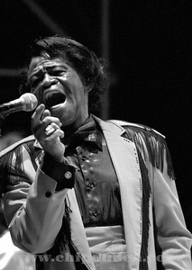 The Hardest Working Man in Show Business, James Brown.  Stir Cove, Council Bluffs, IA.  2006