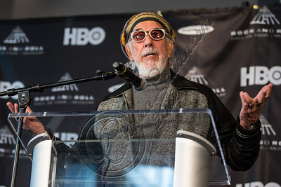 LOS ANGELES, CA - DECEMBER 11:  Producer Lou Adler attends the Rock & Roll Hall of Fame 2013 Inductee Press Conference at Nokia Theatre L.A. Live on December 11, 2012 in Los Angeles, California.  (Photo by Chelsea Lauren/WireImage)