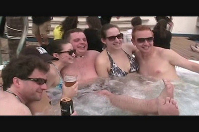 VIDEO - More Rock Tub!  Best seats in the house!