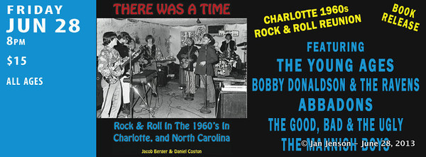 Rock & Roll in the 60s in Charlotte