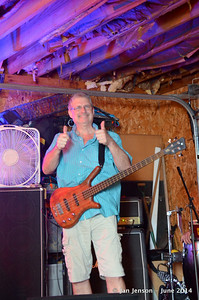 George Hatcher Band practice 6-30-14