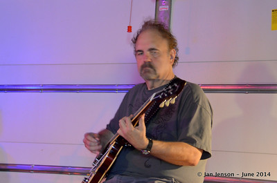 Ralph Oleski George Hatcher Band practice 6-30-14