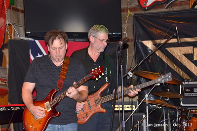 George Hatcher Band at Pucketts, Charlotte, NC  10-12-13