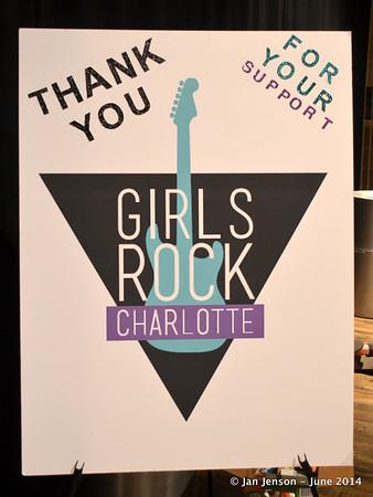 Girls Rock Charlotte - June 23-27, 2014