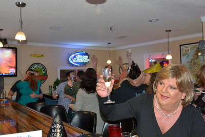 Midnight - 2015 New Year's Eve at The Friendly Moose, Matthews, NC