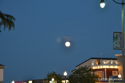 August Harvest Moon over Rehoboth Beach, DE