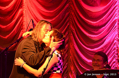 Neil Bartley & Pam Taylor Band at The Vizualite Theater in Charlotte, NC   9-14-13