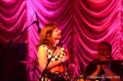 Pam Taylor Band at The Vizualite Theater in Charlotte, NC   9-14-13