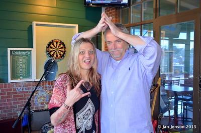 Pam Taylor and Brad Heard