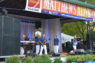 The Catalinas @ 2014 Matthews Alive! Festival - August 29, 2014