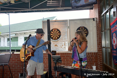 Kelly Mullens & Stella Whittle @ Beantown in Matthews, NC - July 6, 2014
