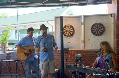 Kelly Mullens singing with Tony Rogers & Stella Whittle @ Beantown in Matthews, NC - July 6, 2014