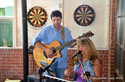 Tony Rogers & Stella Whittle @ Beantown in Matthews, NC - July 6, 2014