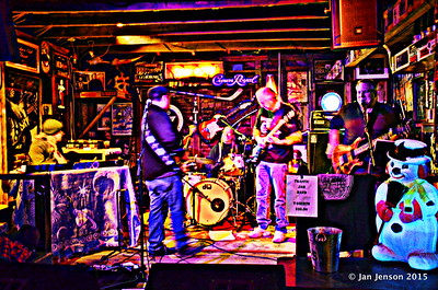 Traffic Jam @ Smokey Joes, Charlotte, NC - 2-21-15