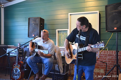 Dale Meyer & Wink Keziah at Beantown, Matthews, NC  3-29-15