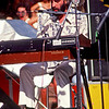 Richard Manuel of The Band, Frost Amphitheater, Stanford, July, 1976. One of my very favorite concerts. This was the first time I'd seen them live, and I had a pit pass to boot. Great songwriting and playing.