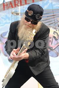 Oct 26, 2008-Pomona, California, USA-Musician DUSTY HILL of ZZ Top at Love Ride 25, Pomona Fairgrounds.  (Credit Image: cr  Scott Mitchell/ZUMA Press
