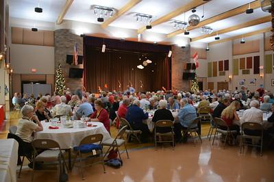 The Uptown Angels Christmas dinner & concert @ Superstition Sunrise RV Resort - Apache Junction, AZ - 12-14-16