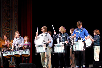 Plant High School Drumline (opening for Rockapella), Tampa Theatre, Tampa, FL - 12/22/09
