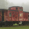The old caboose