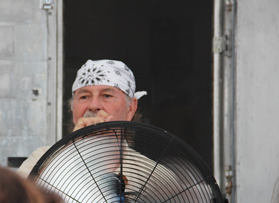 Our biggest fan at the Estor-Gin Jam