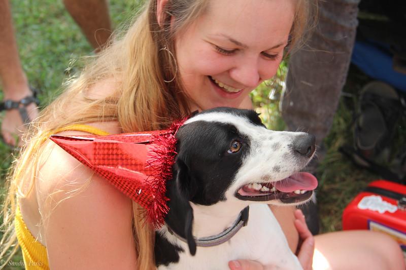Jessie and SHona's pup
