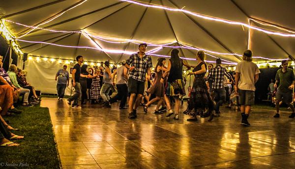Saturday night Square dance