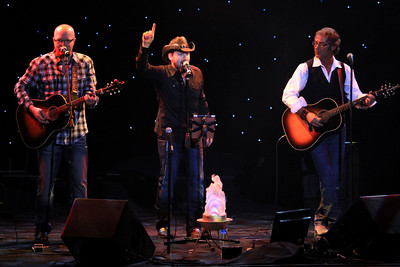 Joel Sayles (L) Chris Hawkey (C) and Brian Kroening (R) of Rocket Club