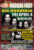 """98.5FM Island Rhythms and Island Air presents Bud Light Reggae Fest 2008 - featuring Big Mountain coming back to Hawaii on April 4th Don Ho's at the Aloha Tower Marketplace. Stay tuned for inter-island tour possibilities on Maui, Big Island and Kauai. For tickets, go to <a href=""""http://www.islandtix.com"""">http://www.islandtix.com</a> . More featured hit bands include local favorites : maxx effex and anjj lee, soul free, kawao, princess ilona irvine, guidance, onward and more. Special Mahalos to our sponsors, barefoot league, eco systems, tropical smoothie cafe, khon 2, midweek, star bulletin, maxx & anjj, LLC, wade bahn beauty studio, ktuh 90.3 FM Honolulu. For more information, call 808-953-9471"""