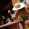 "Gretchen Masters, right, of Dolores, CO, dances to the music of the Farewell Drifters at RockyGrass on Saturday.<br /> For more photos and a video of RockyGrass, go to  <a href=""http://www.dailycamera.com"">http://www.dailycamera.com</a>.<br />  Cliff Grassmick / July 24, 2010"