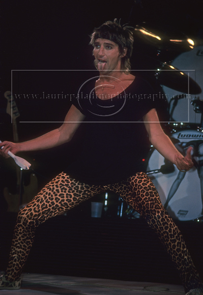 Rod Stewart photographed by Laurie Paladino
