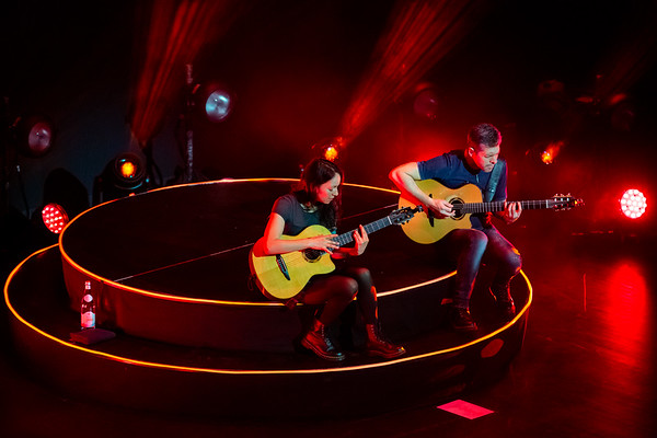 Rodrigo y Gabriela on the Mettavolition Tour at the Brown Theatre in Louisville, Kentucky on November 27, 2019. Photo by Tony Vasquez