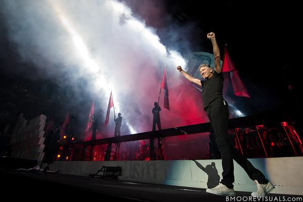 """Roger Waters takes teh stage at the start of his """"The Wall Live"""" tour on November 16, 2010 at St. Pete Times Forum in Tampa, Florida"""