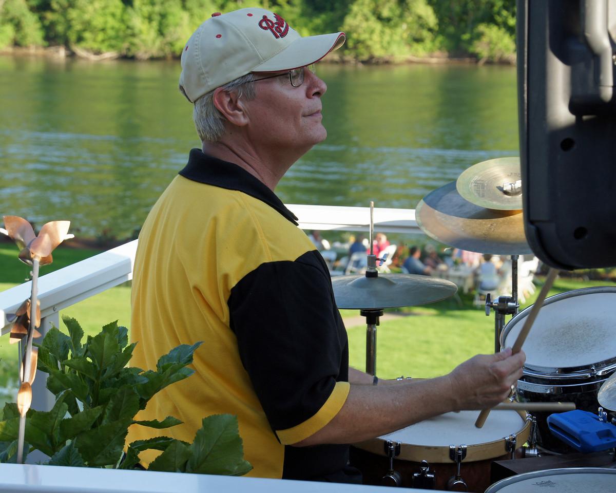 Ron Leach, drums