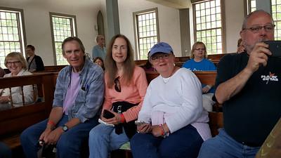 Walt, Mary, Nancy, and Tim.