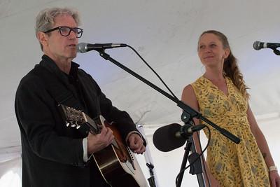 Sam Baker and Carrie Elkin.