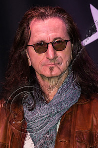 HOLLYWOOD, CA - NOVEMBER 20:  Musician Geddy Lee of Rush is inducted into Guitar Center's historic RockWalk at Guitar Center on November 20, 2012 in Hollywood, California.  (Photo by Chelsea Lauren/WireImage)